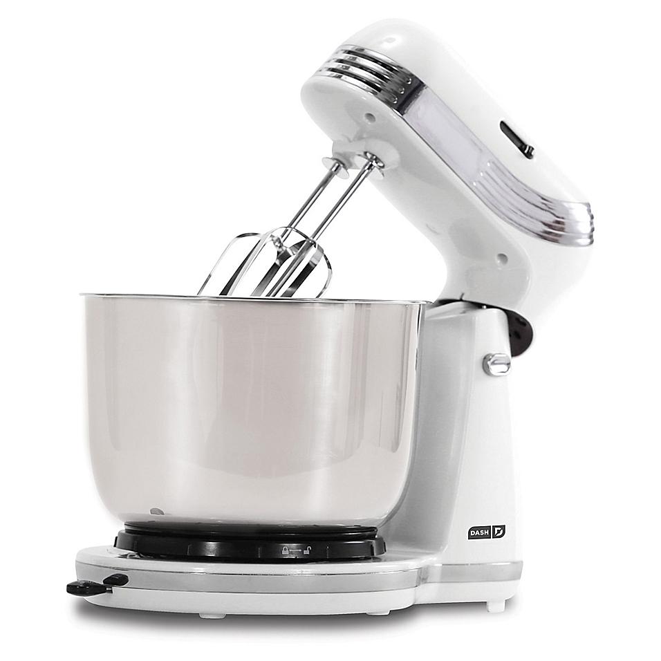 Dash Everyday Stand Mixer, White