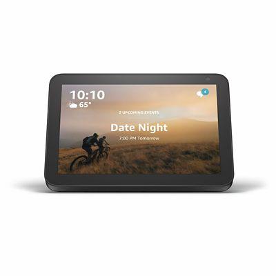 Amazon Echo Show 8 with Alexa in Charcoal