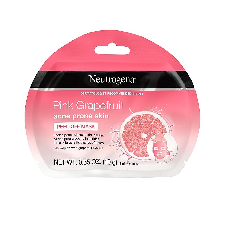 Neutrogena® Single-Use Pink Grapefruit Peel-Off Acne Face Mask