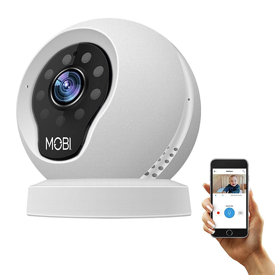 MobiCam Multi-Purpose Smart Hd WiFi Baby Monitoring System, Monitoring Camera