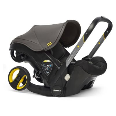 Doona Infant Car Seat & Latch Base – Car Seat to Stroller – Greyhound – US Version