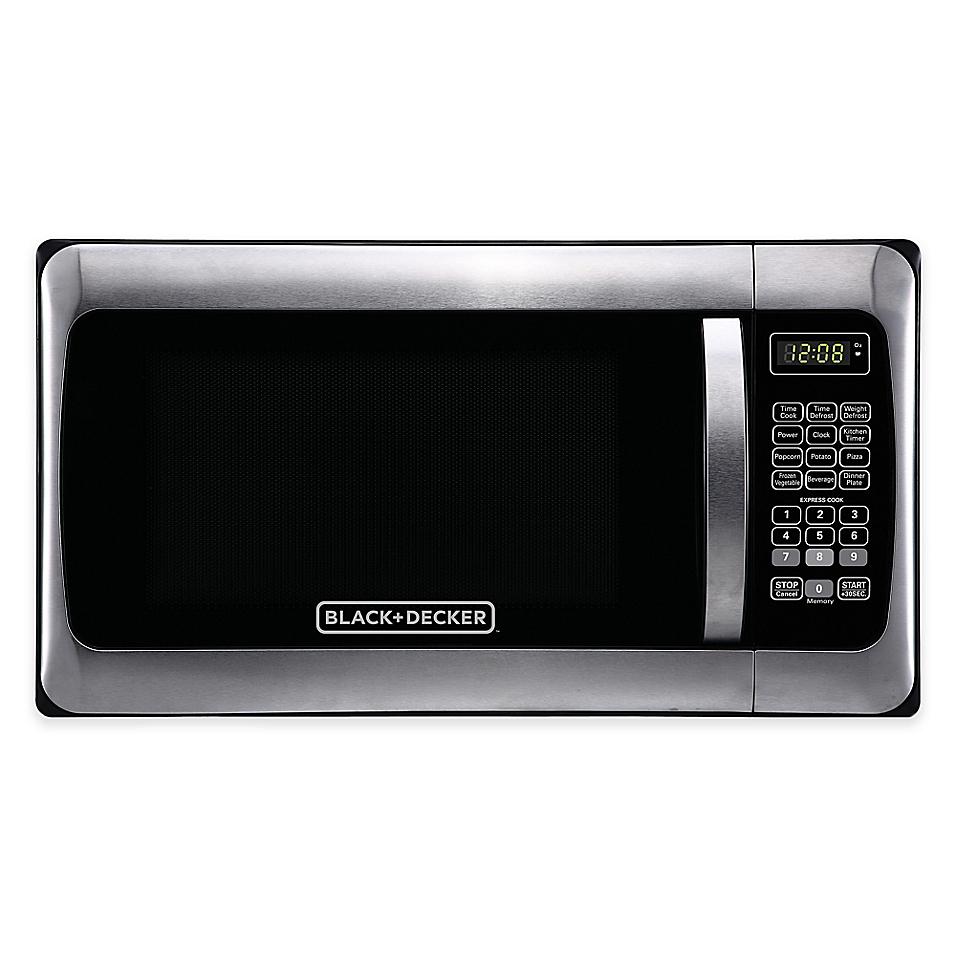 Black & Decker EM031MGG-X1 1.1-Cu. Ft. Stainless Steel Microwave