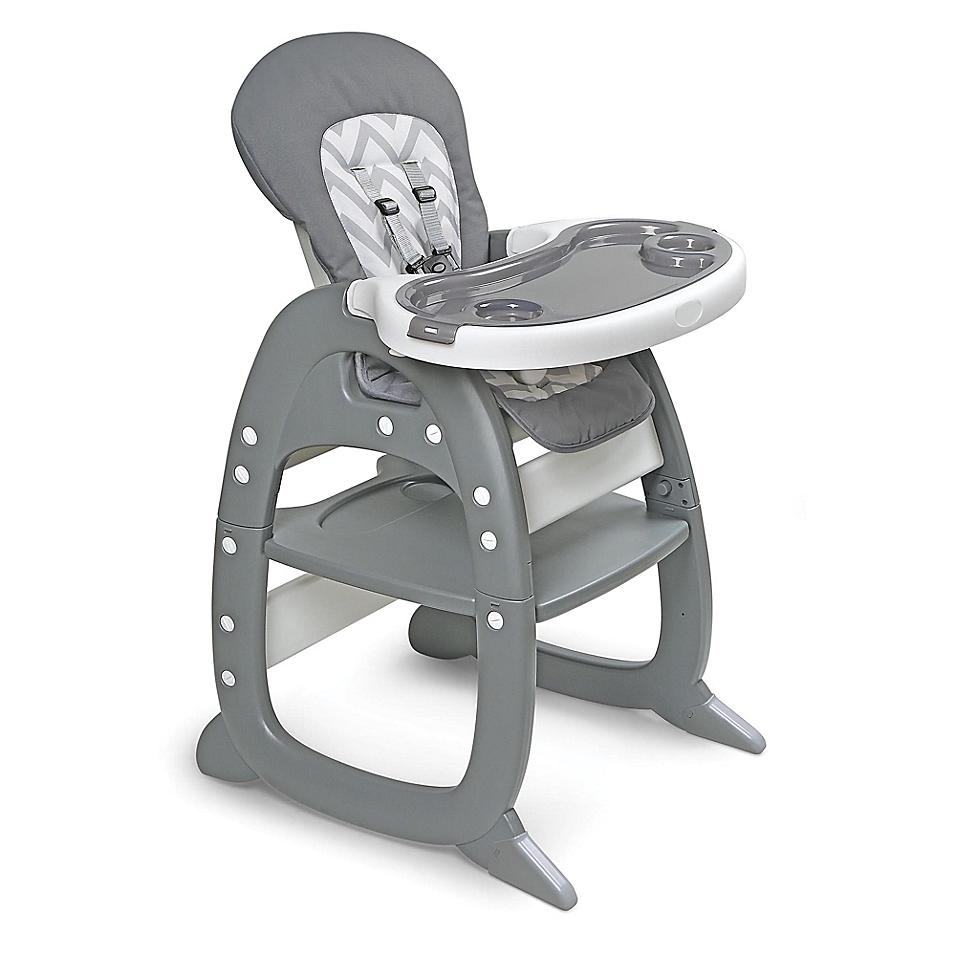 Badger Basket Unisex Envee Ii Baby High Chair with Playtable Conversion