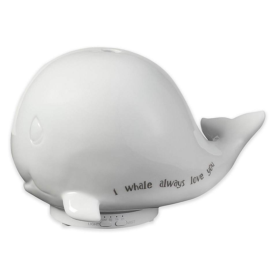 Precious Moments I Whale Always Love You Whale Ceramic Led Essential Oil Diffuser and Night Light 183405