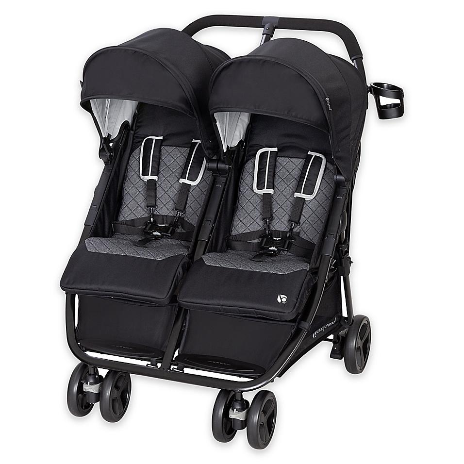 Baby Trend® Lightweight Double Stroller in Volta Black