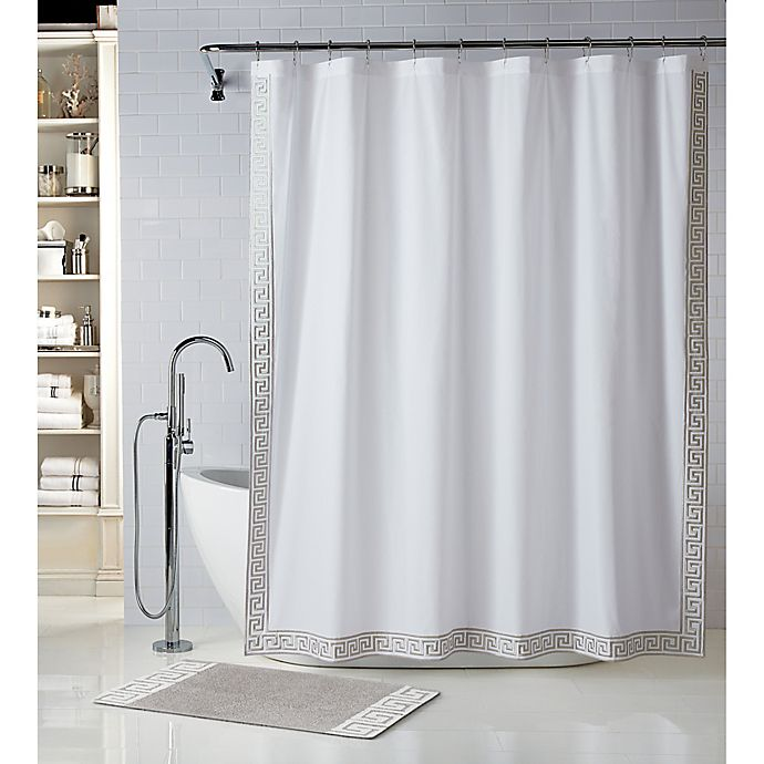 Alternate image 1 for Wamsutta® Sheffield 72-Inch x 72-Inch Shower Curtain in Peyote