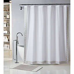 Wamsutta® Sheffield 54-Inch x 78-Inch Shower Curtain in Peyote
