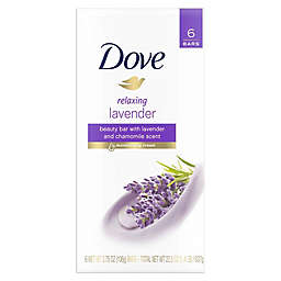 Dove® 6-Pack Relaxing Lavender Beauty Bar Soap