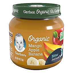 Gerber® 2nd Foods 4 oz. Organic Margo Apple Banana Baby Food