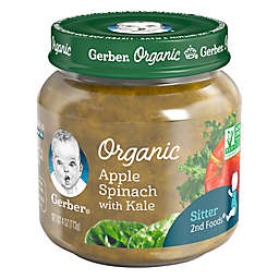 Gerber® 2nd Foods® Organic 4 oz. Apple Spinach with Kale Baby Food