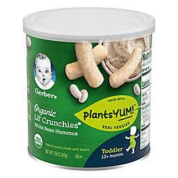 Gerbers® Organic Lil' Crunchies® 1.59 oz. White Bean Hummus