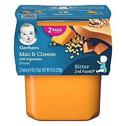 Gerber® 2nd Foods® 2-Pack 4 oz. Mac & Cheese with Vegetables Baby Food