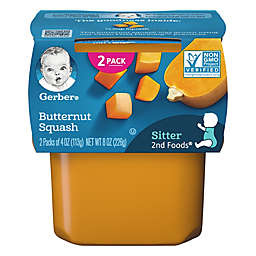 Gerber® 2nd Foods® 2-Pack 4 oz. Butternut Squash Baby Food<br />