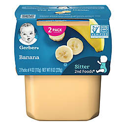 Gerber® 2nd Foods® 2-Pack 4 oz. Banana Baby Food