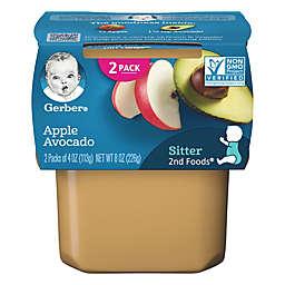 Gerber® 2nd Foods® 2-Pack 4 oz. Apple Avocado