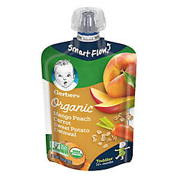 Gerber® Organic 3.5 fl. oz. Mango Peach Carrot Coconut Water Splasher