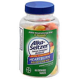 Alka-Seltzer® Extra Strength Heartburn ReliefChews® 66-Count Tablets in Assorted Fruit