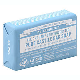 Dr. Bronner's All-One Baby Hemp Unscented Pure-Castile Bar Soap