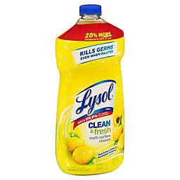 Lysol® Sparkling Lemon & Sunflower Essence Clean & Fresh Multi-Surface Cleaner