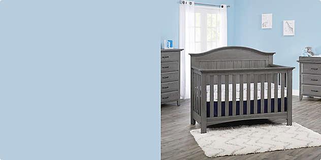 Soho Baby Chandler 4-in-1 Convertible Baby Crib