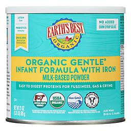 Earth's Best® 23.2 oz. Organic Gentle Infant Formula With Iron Milk-Based Powder