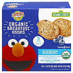 Earth's Best® 3.5 oz. Blueberry Organic Breakfast Biscuits
