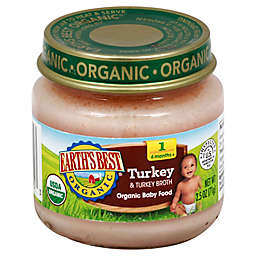 Earth's Best® Organic 2.5 oz. Turkey & Turkey Broth Baby Food