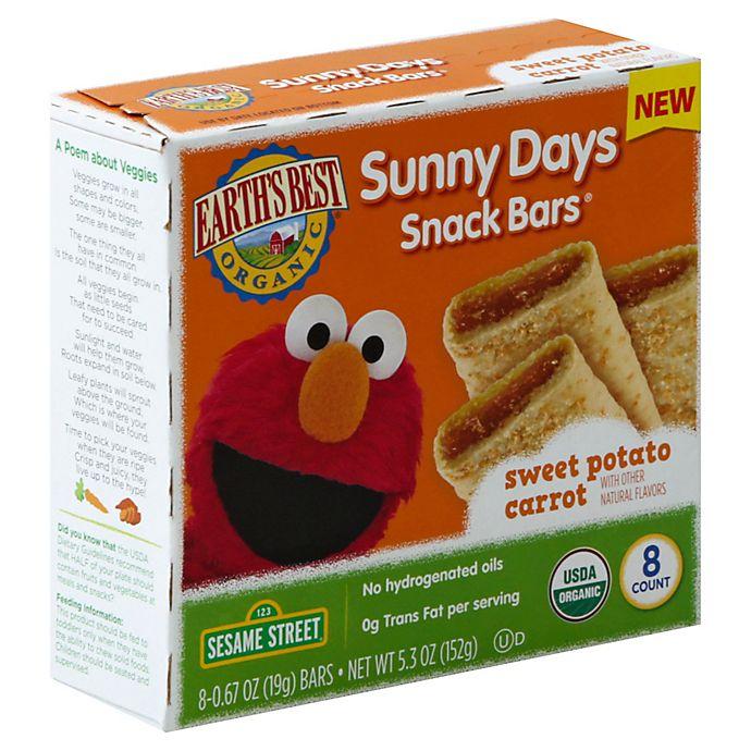 Alternate image 1 for Earth's Best® Sunny Days Sweet Potato Carrot Bars