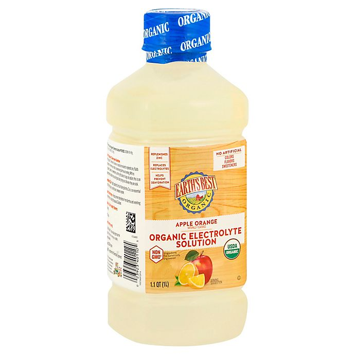 Alternate image 1 for Earth's Best® 33.8 oz. Organic Apple Orange Electrolyte Solution