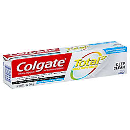 Colgate® Total 5.1 oz. Fluoride Deep Clean Toothpaste with Sensitivity Relief