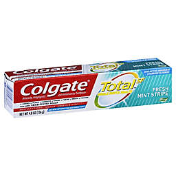 Colgate® Total 4.8 oz. Toothpaste Gel with Fluoride in Fresh Mint Stripe