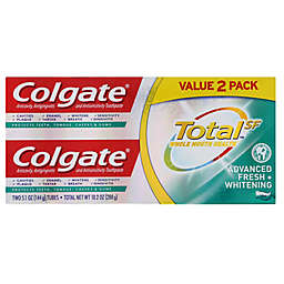 Colgate® Total SF™ 2-Pack 5.1 oz. Whole Mouth Health Advanced Fresh + Whitening Toothpaste