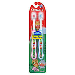 Colgate® 2-Pack My First® Kids, Infant and Toddler Extra-Soft Toothbrush Value Pack