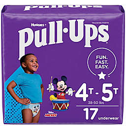 Huggies® Size 4T-5T 17-Count Boys' Mickey Mouse Disposable Pull-Ups Training Pants