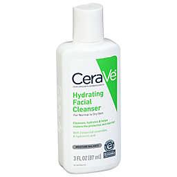 CeraVe® 3 fl. oz. Hydrating Facial Cleanser