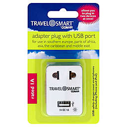 Travel Smart® by Conair Adapter Plug with USB Port