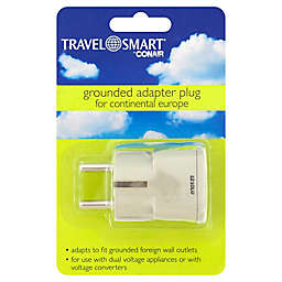Travel Smart® by Conair Adapter Plug for Europe, Middle East, Africa, Asia and Caribbean