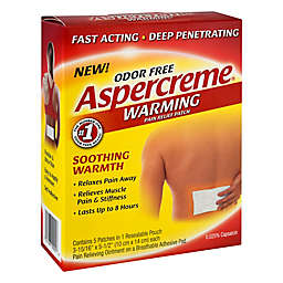 Aspercreme® 5-Count Odor-Free Warming Pain Relief Patches