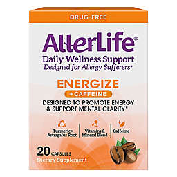 Allerlife® 20-Count Daily Wellness Energize & Allergy Relief Supplement