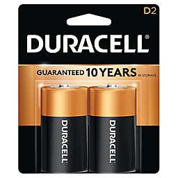 Duracell® 2-Pack D Batteries