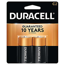 Duracell® 2-Pack C Batteries