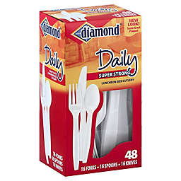 Diamond® 48-Count Daily Super Strong Cutlery Combo