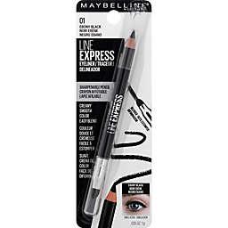 Maybelline® Line Express® Sharpenable Wood Pencil Eyeliner in Ebony Black