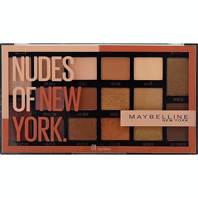Alternate image 1 for Maybelline® Nudes of New York Eyeshadow Palette