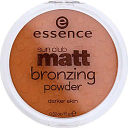 Essence Sun Club Matt Bronzing Powder in Sunny