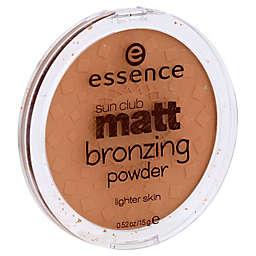 Essence Sun Club Matt Bronzing Powder in Natural