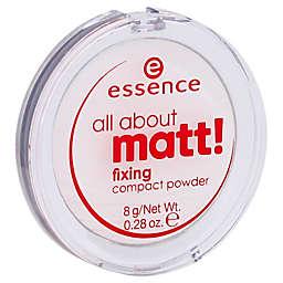 Essence All About Matt! 0.28 oz. Fixing Compact Powder