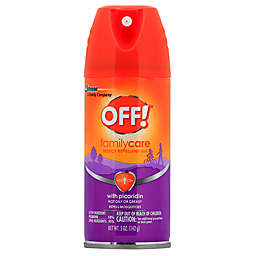 OFF!® 5 oz. FamilyCare Insect Repellent VIII Aerosol Spray with Picaridin