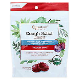 Quantum® Health TheraZinc® 18-count Cough Relief Organic Bing Cherry Bagged Lozenges