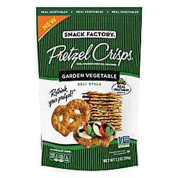 Pretzel Crisps® Garden Vegetable Pretzel Crackers 7.2 oz. Bag